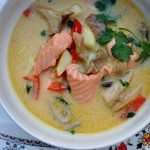 Thai Coconut Salmon Chowder 019