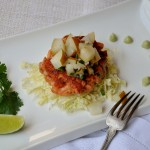 Wild Salmon burger w Asian pear salsa & avocado cream Aug 2012 004