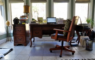 Maureen C. Berry's desk