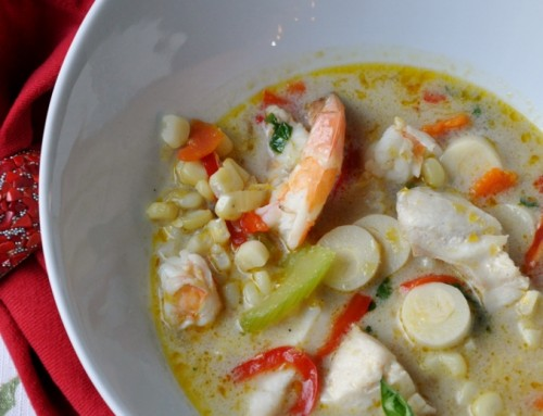 This Week's Recipe: Sweet and Spicy Fish Chowder