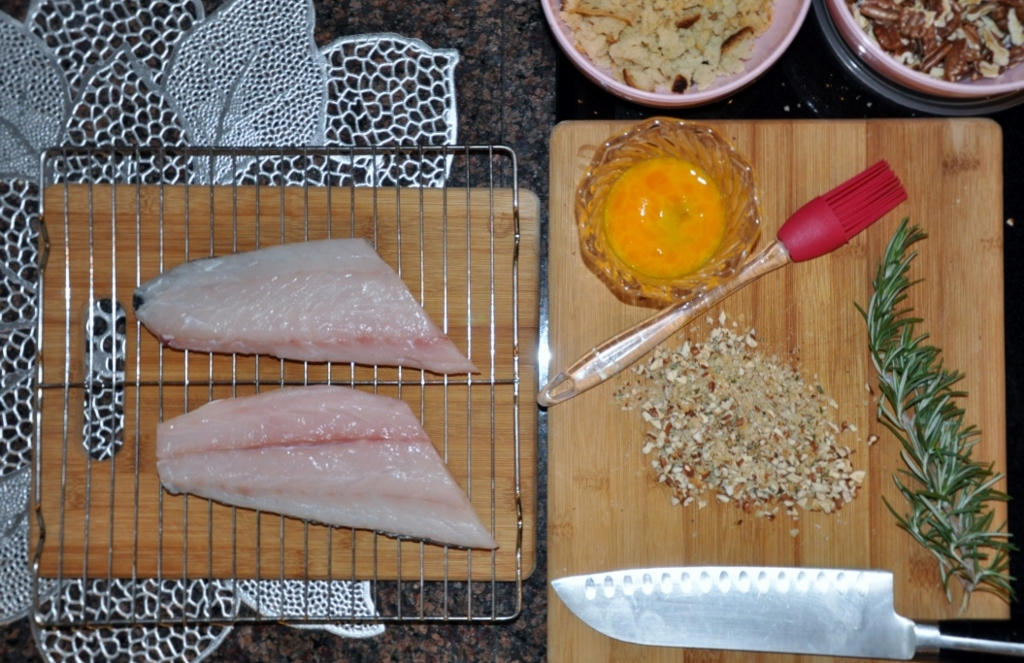 Pecan-Rosemary Trout MCB