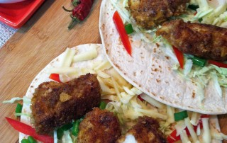 Chipotle Crusted Grouper Tacos MCB