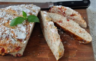 Tomato Herb Sourdough Bread