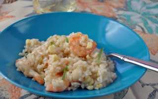 Sweet Corn and Gulf Shrimp Risotto MCB, LLC 2015