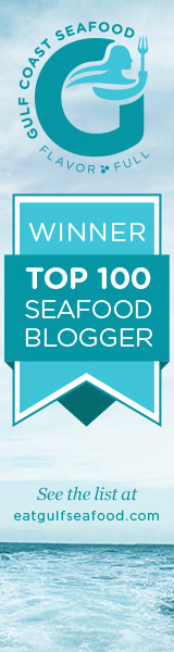 Winner Top 100 Seafood Blogger