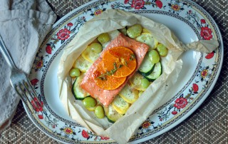 Salmon-in-Parchment