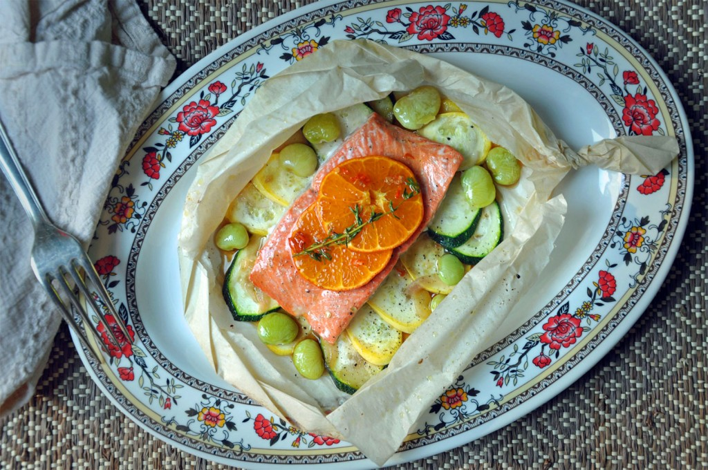Salmon in Parchment Recipe