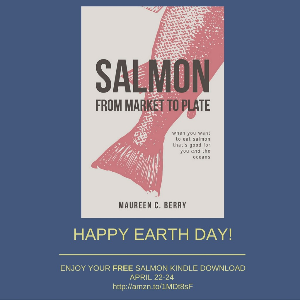 Download Your Free Kindle Salmon Cookbook for Earth Day