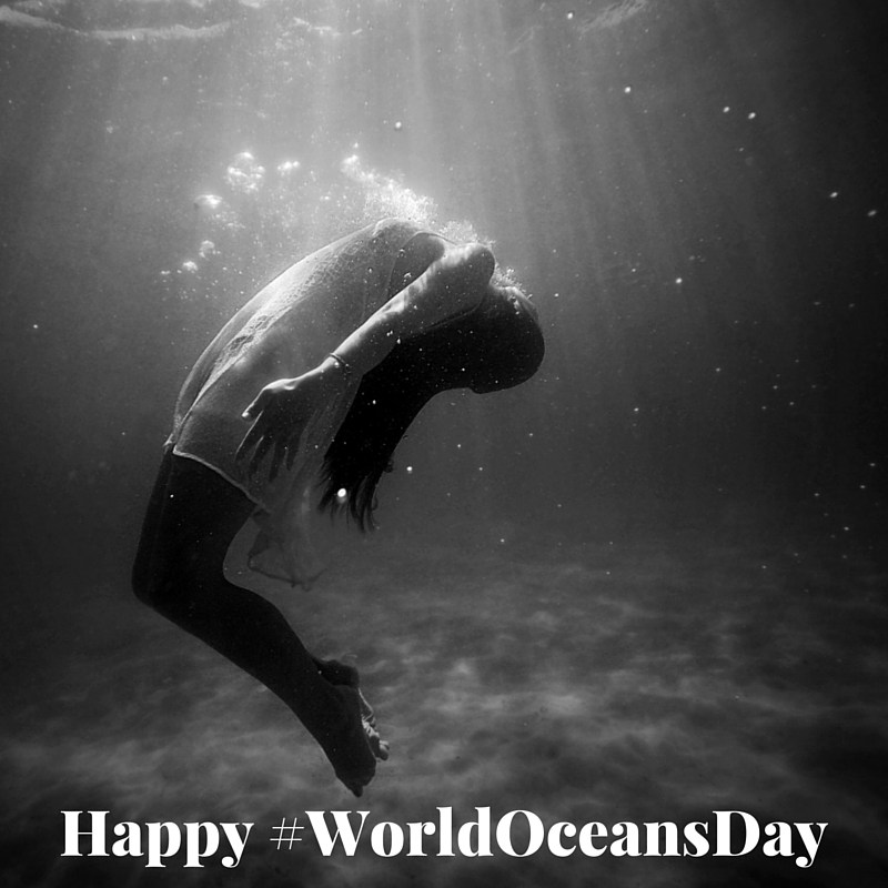 #WorldOceansDay