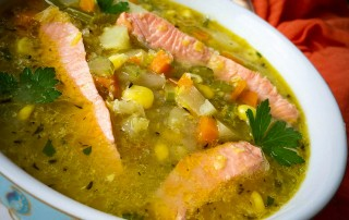 salmon-corn-chowder