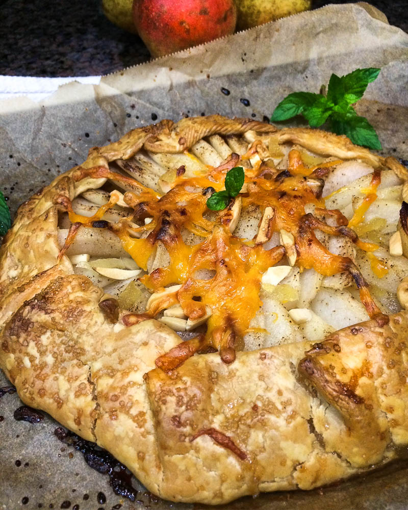 Pear and Cheddar Tart Recipe