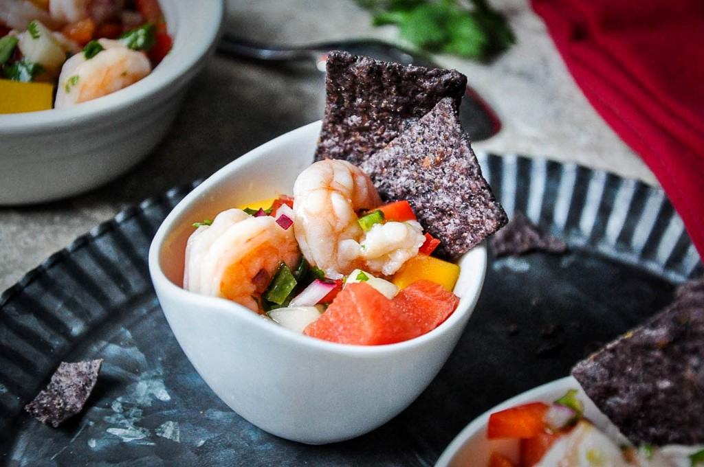 Shrimp-Mango Ceviche Recipe