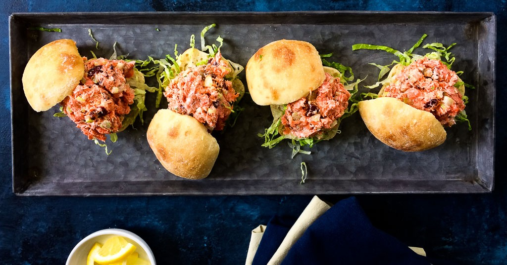 Sockeye Salmon Sliders