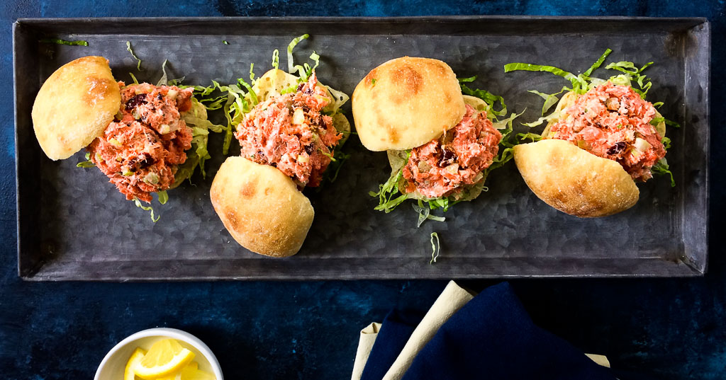 Alaska Sockeye Salmon Sliders