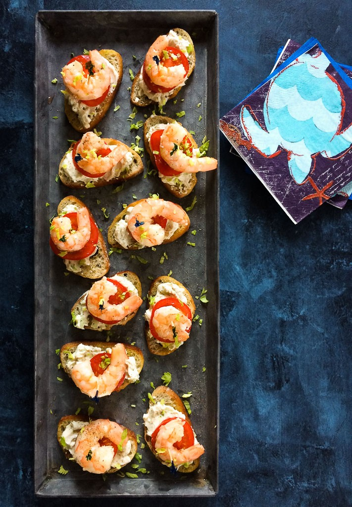 shrimp crostini wild american shrimp