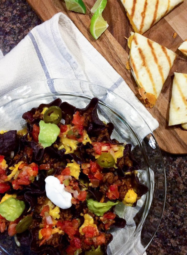 superbowl chili nachos