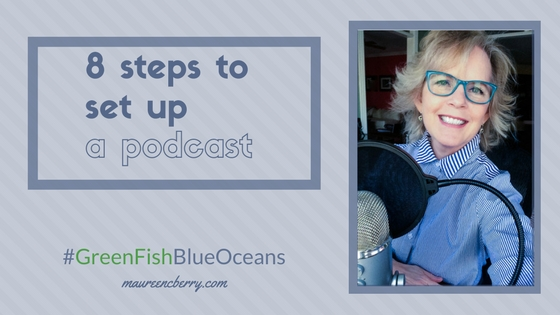8 steps to set up a podcast